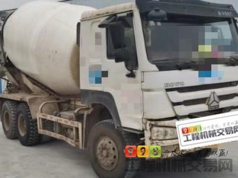 终端出售14年豪沃12方搅拌车(国四)
