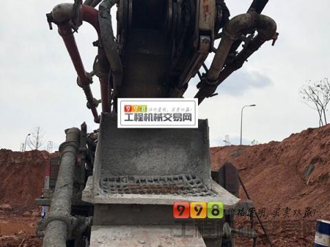 车主转让08年出厂中联五十铃44米泵车(国三绿标)