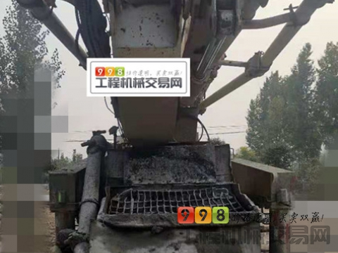 精品转让11年出厂中联奔驰48米泵车(6节臂)