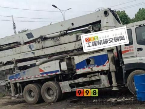 出售10年出厂中联五十铃37米泵车
