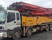 极品转让11年下半年出厂三一五十铃56米泵车(黑转塔6节臂)