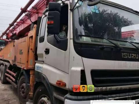 出售14年三一五十铃C8系列56米泵车