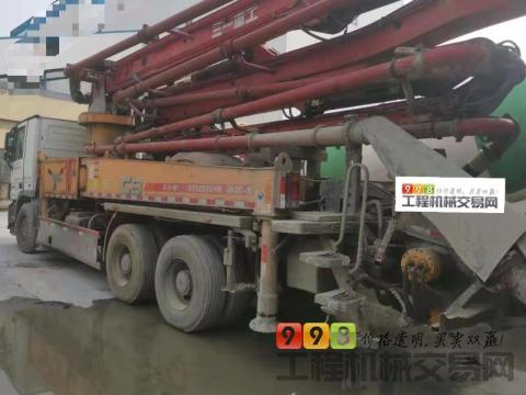 精品出售14年出厂三一奔驰38米泵车(国四)