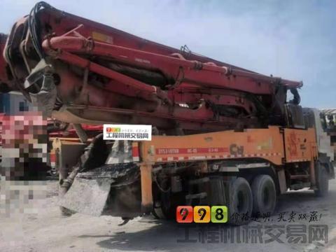 精品出售13年三一日野49米泵车
