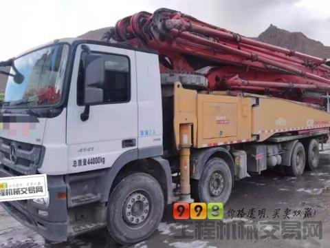 精品出售18年三一奔驰56米泵车(国五)