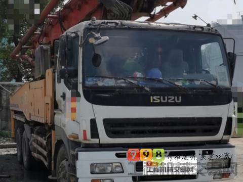 精品出售11年11月三一五十铃46米泵车(大排量)