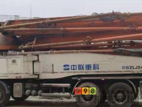 出售2014年12月中联奔驰52米(国四排放)