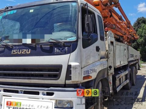 精品转让13年出厂中联五十铃47米泵车(带盖盖 进口双油泵开式系统)