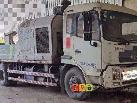 精品出售16年中联解放10022车载泵