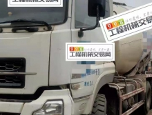 终端出售14年5月东风大力神12方搅拌车(国四带营运证 )