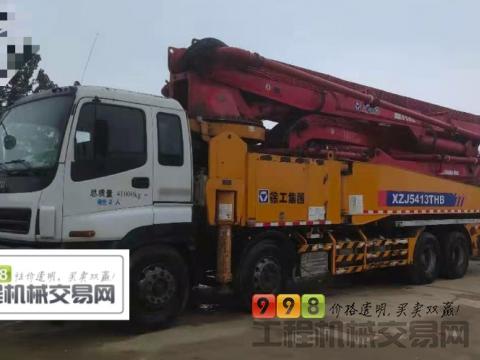 出售2011年徐工五十铃底盘49米泵车