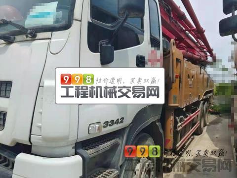 精品准新车出售18年5月三一五十铃47米泵车(稀缺车型  国五 三桥叉腿 )