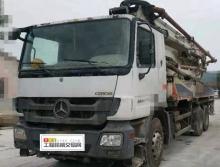 出售10年中联奔驰底盘40米泵车