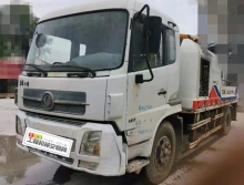 出售10年中联东风底盘9014车载泵(西北车)