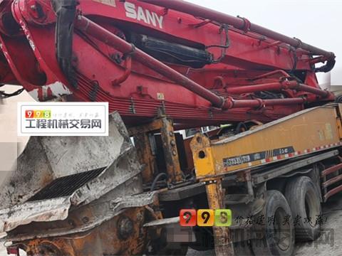 精品转让11年11月三一五十铃46米泵车(叉腿 大排量二选一)