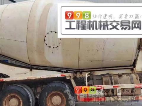 出售18年福田欧曼15方搅拌车(国五带营运证   潍柴375马力)