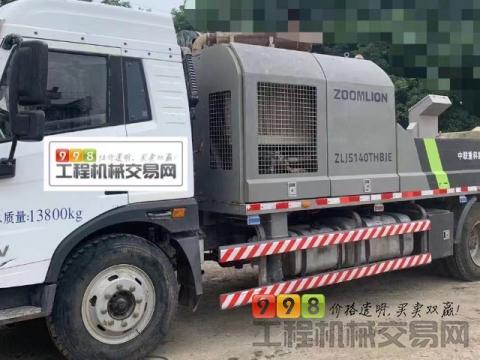 精品出售17年中联解放10018车载泵(国五)