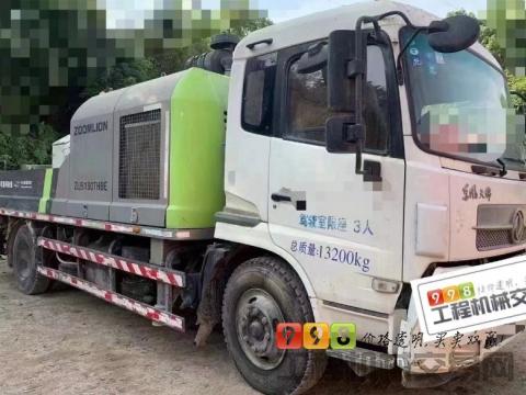出售16年中联东风10018车载泵(国四)