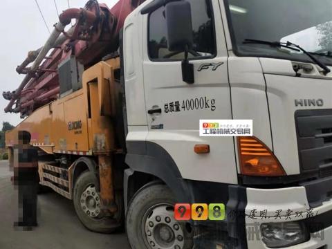 精品出售14年7月徐工日野52米泵车(车况相不中包赔路费)