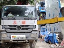 精品出售11年出厂三一奔驰40米泵车