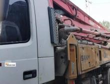 车主精品转让10年出厂三一沃尔沃37米泵车(3桥叉腿极品车况)
