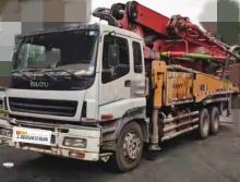 精品转让11年出厂三一五十铃40米泵车(大排量)