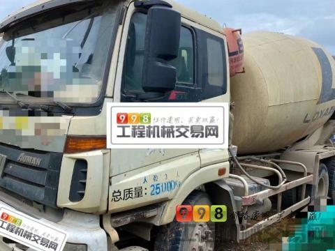出售14年福田欧曼大12方搅拌车(国三2台 带营运证)
