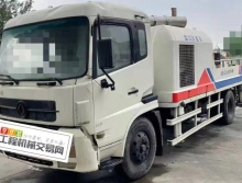 终端精品出售12年中联东风9018车载泵(2台)