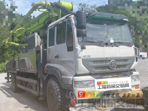 准新车出售19年中联斯太尔37米泵车(4万多方)