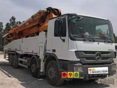极品转让13年中联奔驰52米泵车(6节臂 大排量 双油泵)