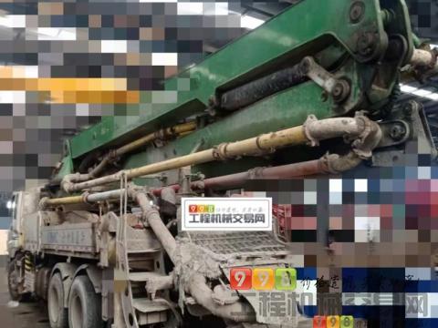 车主转让08年出厂中集五十铃38米泵车(个人车M臂架)