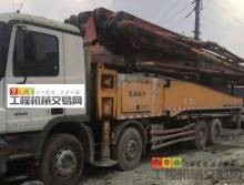 一口价转让2012年2月三一奔驰52米泵车(大排量 6节臂)