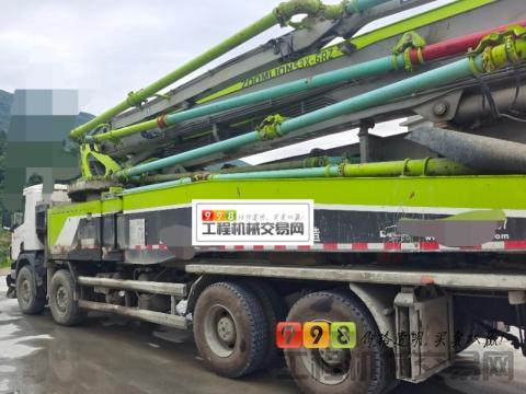 精品出售18年中联斯堪尼亚52米泵车(公路之王)