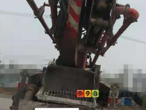 低价急售出售09年徐工日野41米泵车(三桥叉腿)