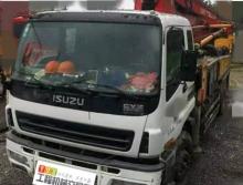 一口价出售09年11月三一五十铃37米泵车(三桥叉腿 一手车)