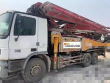 转让2010年10月三一奔驰46米泵车(国三)