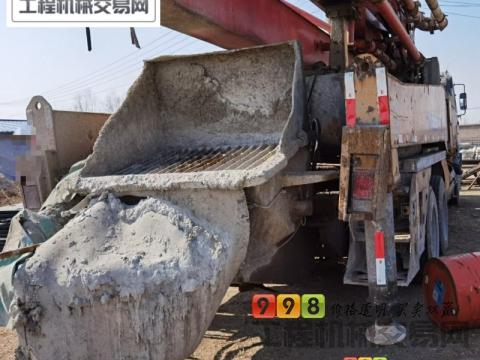 出售12年差几天徐工五十铃41米泵车