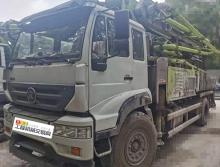 终端直售18年10月份中联斯太尔38米泵车(国五)(欢迎出价)