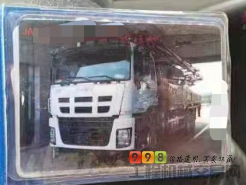 出售18年三一五十铃49米泵车(暂不出售)