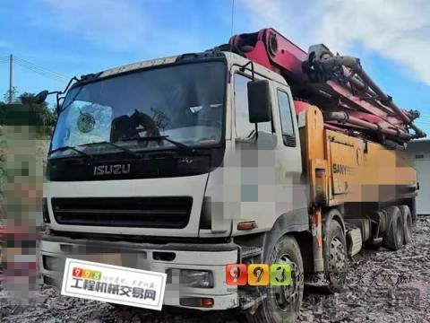 出售13年三一五十铃50米泵车