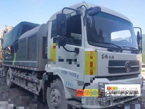出售19年中联10022车载泵(国五准新车)