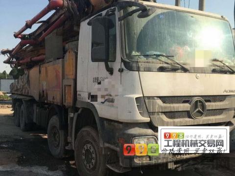 出售2017年徐工奔驰56米泵车 (国四)