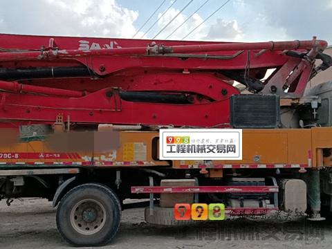车主一手车转让18年三一37米泵车(国五  两台任选其一 )