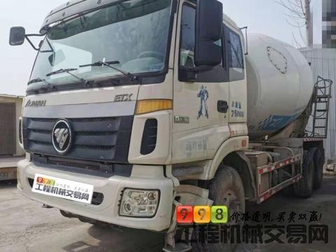 出售2017年欧曼大12方搅拌车(国五)
