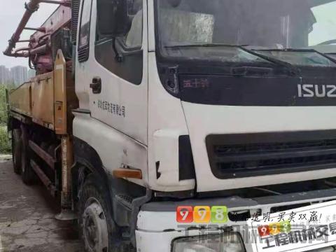 精品出售10年出厂三一五十铃37米泵车