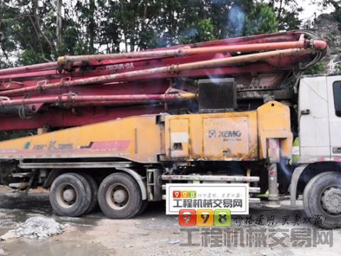 精品出售13年徐工奔驰50米泵车(6节臂K系)