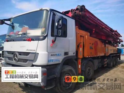 出售13年出厂三一奔驰62米泵车(国四)