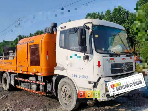 精品出售13年出厂中联10018车载泵