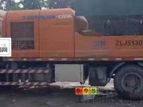 出售14年中联东风9014车载泵(国四)