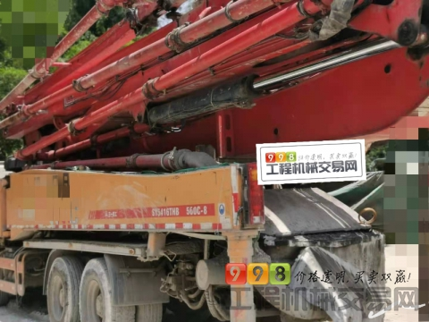 精品出售14年三一沃尔沃56米泵车